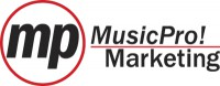 MusicPro! Marketing Logo